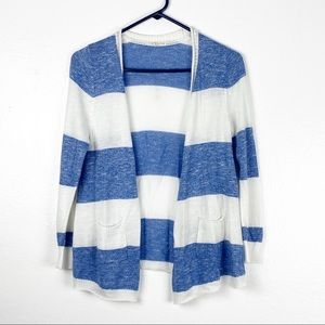 Copper Key Girls Striped Cardigan